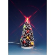 Lighted Christmas Tree, 6""