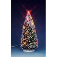 Lighted Christmas Tree, 9""