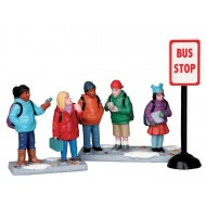 Bus Stop, Set of 3