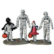 Trick Or Treating With Mummy and Deady, Set of 2
