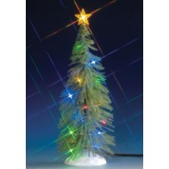 CHASING MULTI LIGHTED SPRUCE TREE, LARGE, B/O (4.5V)