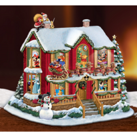 Disney Storey House, Night Before Christmas, MSRP $179.99
