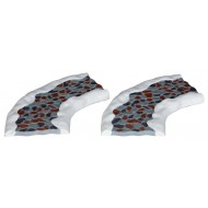 2-Piece Curved Stone Road