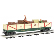 O Operating Elf and Reindeer Chase Car