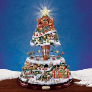 Winter Festival Tree, MSRP $225, Christmas Carnival