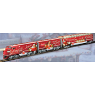 Coca-Cola Through The Years Express Train Set, Special Offer, Includes 1960 (005)and 1970(006) Dome Cars, $200 Value