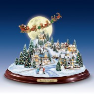 Moonlit Holiday, Thomas Kinkade, MSRP $149.99