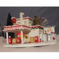 Coca-Cola Holiday Magic Gas Station