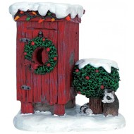 Christmas Outhouse