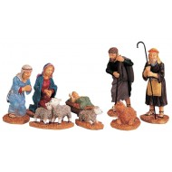 Nativity Christmas Figurines, Set of 8