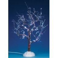 Lighted Ice Glazed Tree, Multi Colored, 9 inch