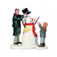 Sharp-Dressed Snowman, Set of 2