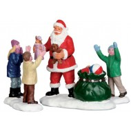 IT'S SANTA!, SET OF 3