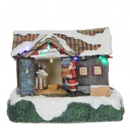 Deer Farm, Animated, Battery Operated Adapter Ready