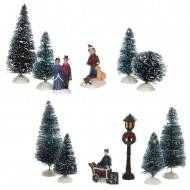 Winter Scenery, 2 Assorted Sets of 6