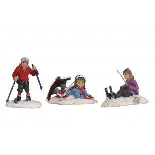 Ski Class, Set of 3 pieces