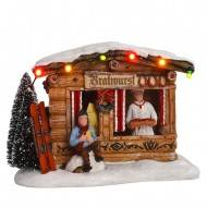 Christmas Bratwurst Market ,Battery Operated