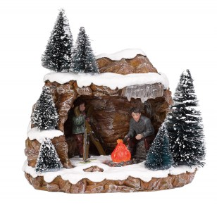 Campfire Cave, Battery Operated