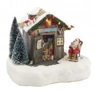 Santa's Shop, Battery Operated