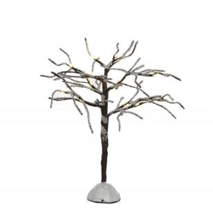 Bare Tree Lighted, Battery Operated, H23cm