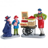 ROASTED PEANUT TREATS, SET OF 2