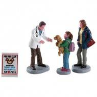 CHARLEY THE VET, SET OF 4
