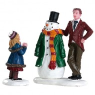 DAD'S SNOWMAN, SET OF 2