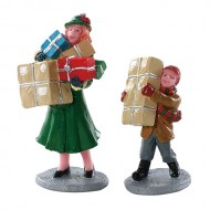 CHRISTMAS RUSH, SET OF 2