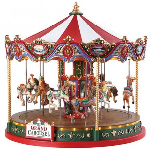 THE GRAND CAROUSEL, WITH 4.5V ADAPTOR (AA)