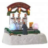 Cedar Creek Christmas Choir, Animated, Battery Operated - Batteries Not Included, - h14cm