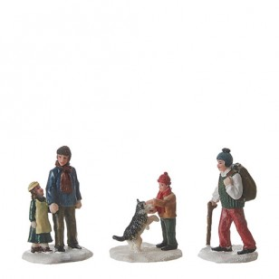 Village People About Town, Set of 3, NOW