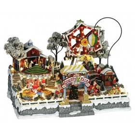 Country Christmas Fair, Multiple Animation, Music, ON SALE was $225
