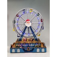 Christmas Grand Ferris Wheel, Animated, Adapter Included