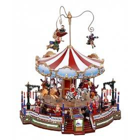 Christmas Grand Carousel, Animated, ON SALE was $129.49