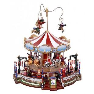 Christmas Grand Carousel, Animated, ON SALE was $129.49