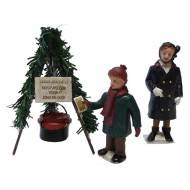 Salvation Army Collection Pot, Set of 3
