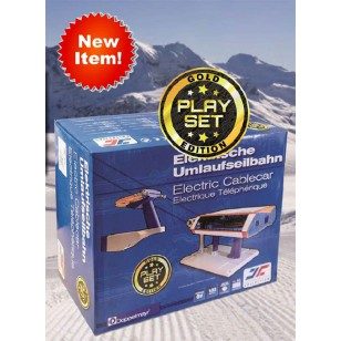 Gold Set G Scale,  Chair Lift, Includes 2 Chair lifts and Power Adapter