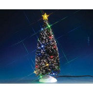 MULTI LIGHT EVERGREEN TREE, LARGE, B/O (4.5V)