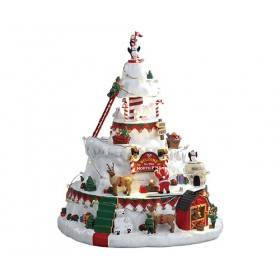 NORTH POLE TOWER, WITH 4.5V ADAPTOR, ON SALE was $124.26