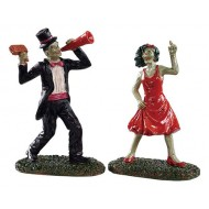THE DANCING DEAD, SET OF 2