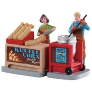KETTLE CORN STAND, SET OF 2