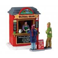 GLOBAL BEAN COFFEE KIOSK, SET OF 3