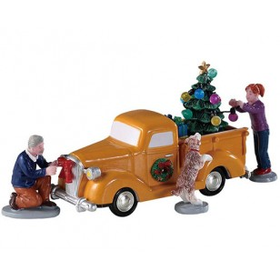 TRIMMING THE TRUCK, SET OF 4