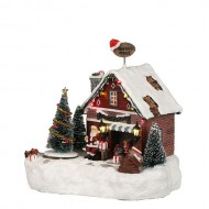 Santa's Office, Animated, Adapter Ready, was $71.78