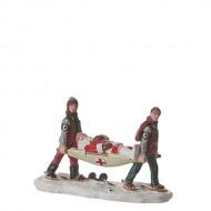 Santa's Ski Accident