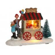 Jouets Market Stall, Battery Operated