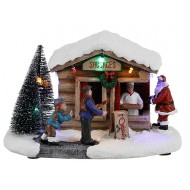 Christmas Sausage Stall, Battery Operated, was $31.19