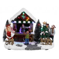 Christmas Love Stall, Battery Operated