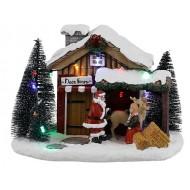 Santa's Reindeer Farm BAttery Operated