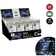 Microdot Mini LED Light, 20 Pure White, 7.38' Long, B.O.